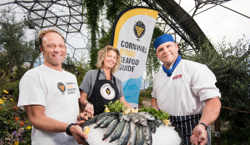 Eden Project Supports Seafood Guide