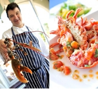 Cornish lobster with a tomato vierge