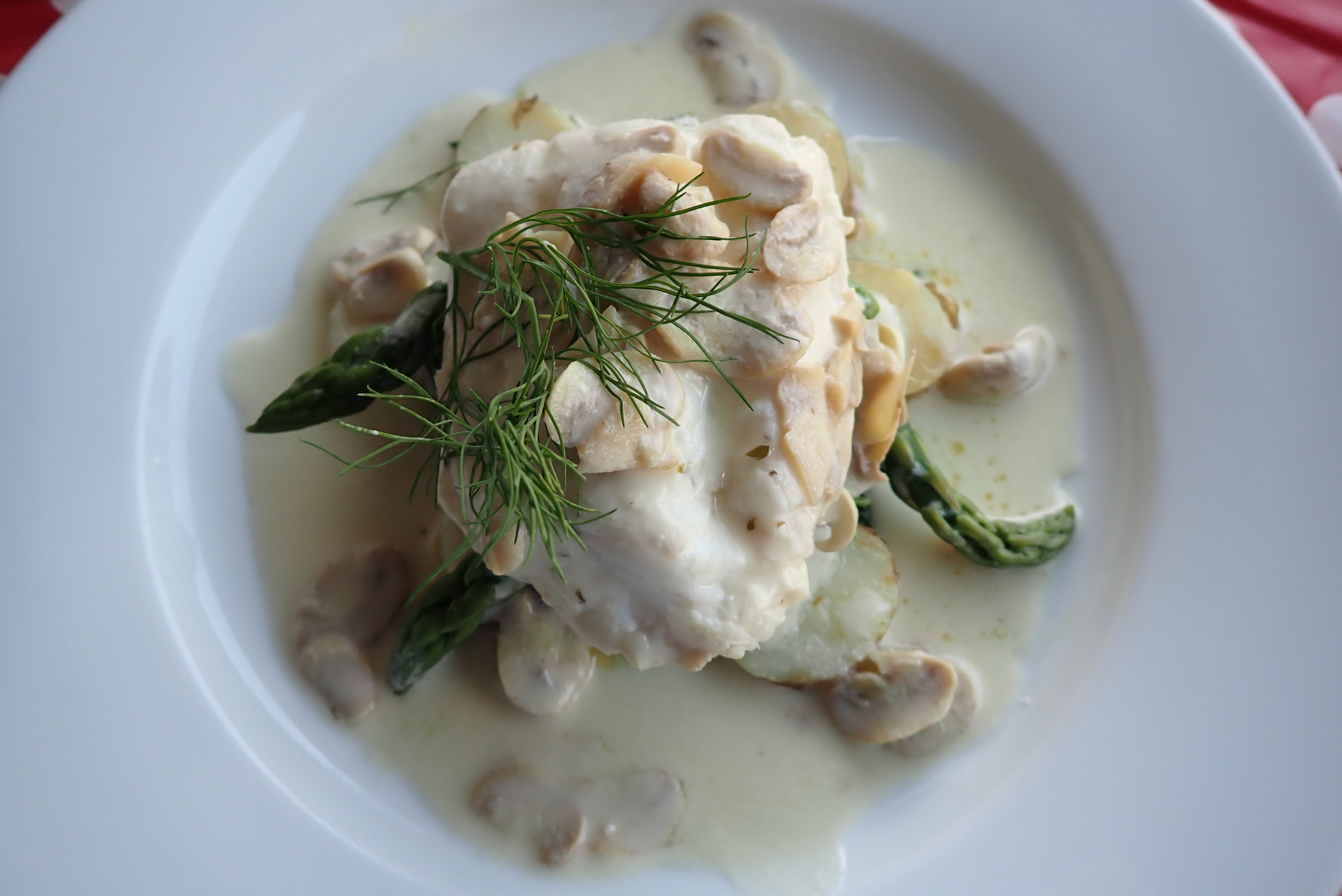 Megrim Sole in White Wine Sauce by Matt Slater