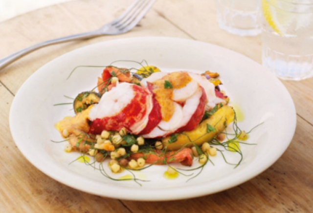 Lobster Fregola with Aioli